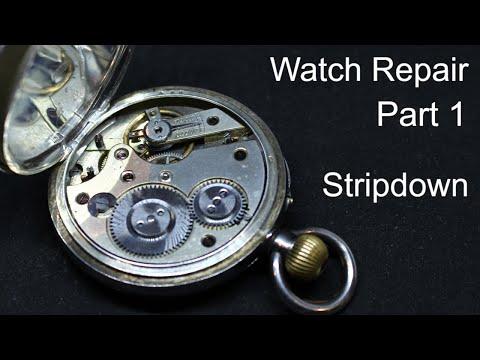 RESTORING A SILVER POCKET WATCH (part 1)