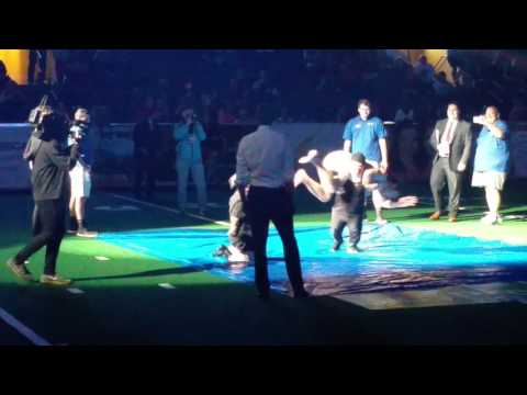 #cannonsup Texas Revolution Arena Football Half-time show
