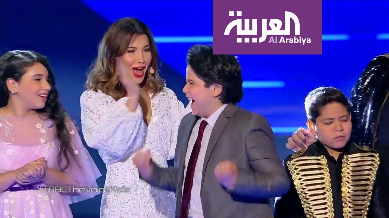 صباح العربية | نانسي عجرم تكسب الرهان بـ محمد إسلام رميح في ذا فويس كيدز