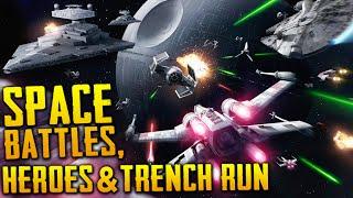 Star Wars Battlefront | Death Star DLC Breakdown - Space Battles, Trench Run, Vader's TIE & More!