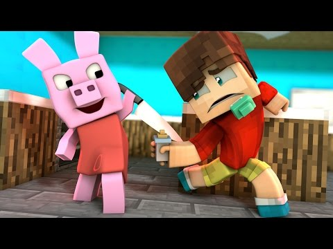 PEPPA PIG NOS ATACA | WHO'S YOUR DADDY EN MINECRAFT