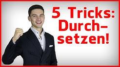 5 mächtige Rhetorik-Tricks für mehr Durchsetzungsvermögen