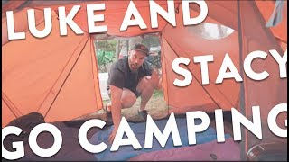 저희랑 캠핑 가실래요? 🏕🏝💑 Luke and Stacy go camping   Vlog #12