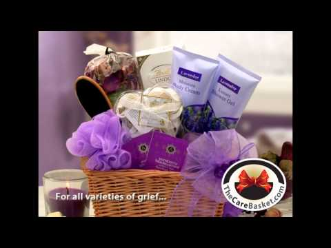 Sympathy Gift Baskets for All Manner of Grieving