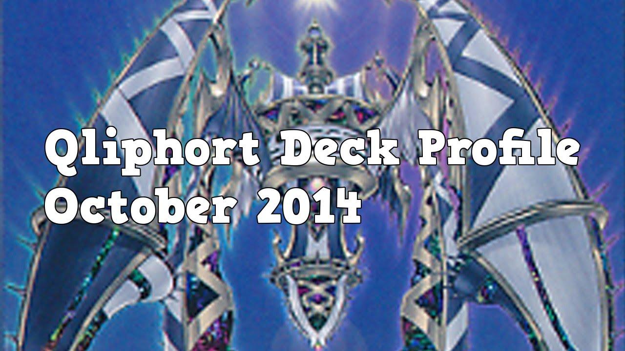 Yugioh Qliphort Deck Profile October 2014
