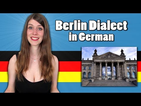 Make BERLIN DIALECT vs. STANDARD GERMAN - Speaking with a Berlin Dialect Images