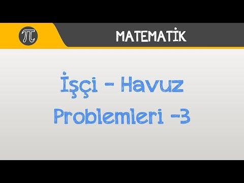 İşçi - Havuz Problemleri -3 | Matematik | Hocalara Geldik