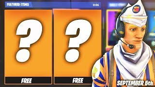 FORTNITE Item Shop SEPTEMBER 5th COUNTDOWN! NEW Grill Sergeant SKIN Today! (Fortnite Item Shop Rese