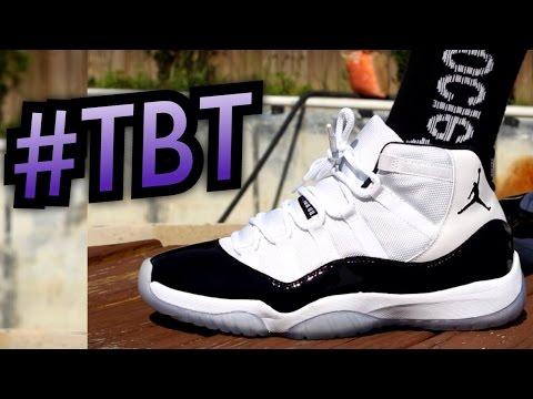"""Concord"" Air Jordan 11 On-Feet #TBT"