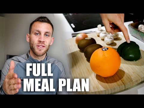 Full Day of Eating | Professional Footballer's Meal Plan