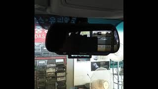 봉고3 룸미러 모니터 후방카메라