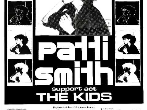 Patti smith fire of unknown origin digitally remastered 1996