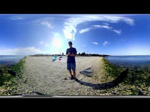 Vuze 360 2D Arrival Boat Ramp and Beach Great Bay Boulevard Little Egg Harbor NJ Part 1a