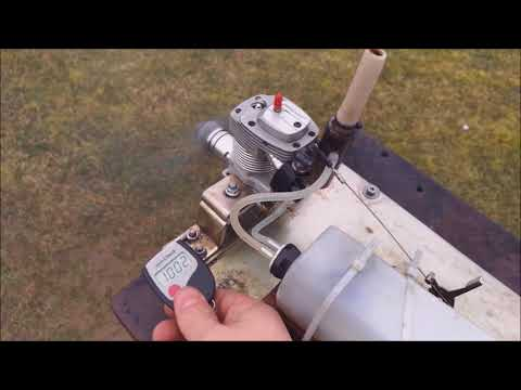Laser 70 RC-Engine Idle Test Glowplugs OS