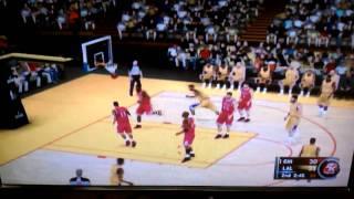NBA 2K11 Wii Gameplay (90-91 Bulls vs. 90-91 Lakers) 2