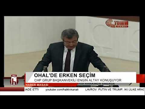 OHAL'de erken seçim - Meclis'te sert tartışma
