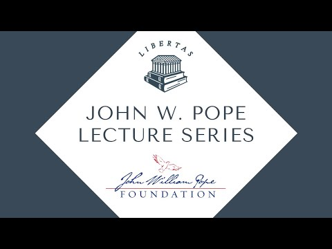 The Betrayal of Liberty on America's Campuses - Alan Charles Kors - Spring 2016 Pope Lecture