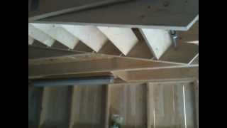 Hydraulic Hide Away Drop Down Stairs Watch The Video