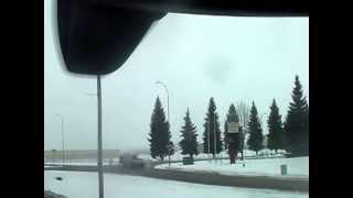 Driving around Williston North Dakota