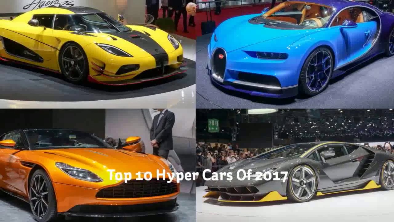 The Top Hypercars Of Youtube