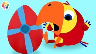 Vocabu-Larry-o con Huevos Sorpresa de Vehículos | BabyFirst Español