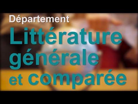 Littérature générale et comparée