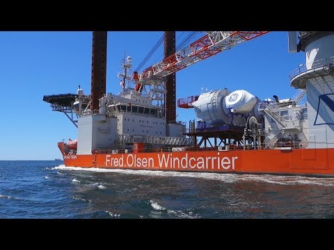 ABOVE ALL / Drone Missions - Offshore Wind Turbines - www.above-all.fr