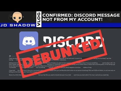 Debunked Private Message Shows Discord Can Check Deleted Messages - JD Vlog
