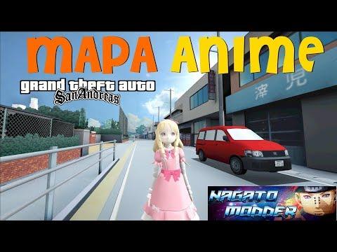 Mapa De Anime V2 By Nagato Modder Compatível Com MODLOADER Para GTA San Andreas
