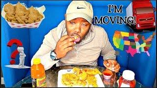REVEALING THE STATE I'M MOVING TO (Catfish Mukbang) 🌎