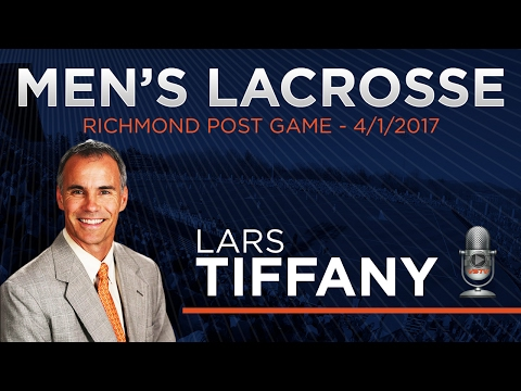 MEN'S LACROSSE: Richmond Post Game - 4/1/17