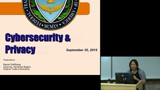 The Vicki Kasomenakis Business Society: Cybersecurity & Privacy