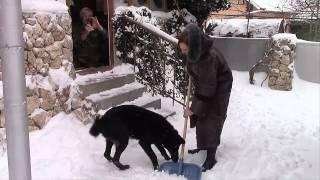 Влог.  Снег.  Молдова Первые дни нового года.