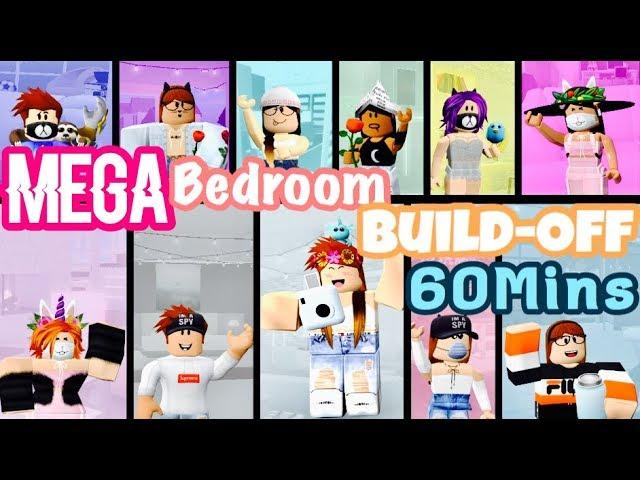 MEGA Bedroom Build-Off 60 MINUTES! Panda V.s. 10 FANS!