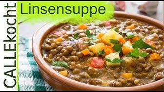 Linsensuppe zubereiten und kochen nach Omas Rezept