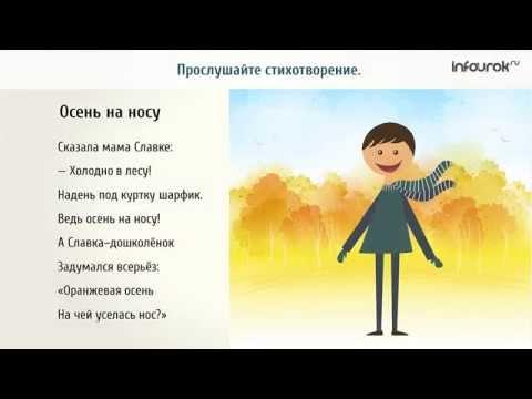 Видеоурок русскому языку Фразеологизмы (4 класс)