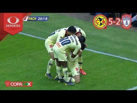 ¡América está en cuartos!   América 5 - 2 Pachuca   Copa Mx - Octavos - Cl 19   Televisa Deportes