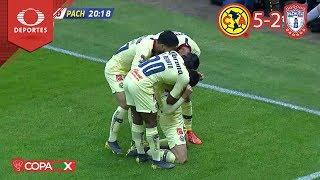 ¡América está en cuartos! | América 5 - 2 Pachuca | Copa Mx - Octavos - Cl 19 | Televisa Deportes