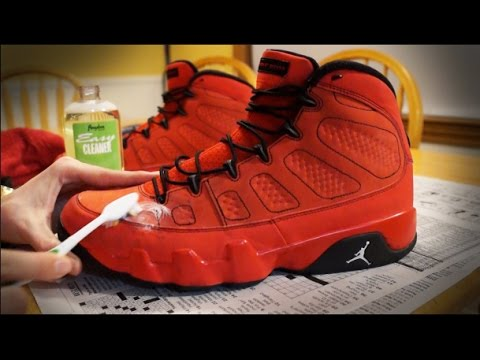 How to Clean and Restore Suede Jordans! DIY Tutorial!