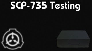 Roblox | Nisorio's Foundation | SCP 735 Testing (Fail)