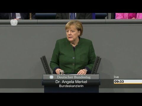 Merkel addresses German parliament over 2017 budget [23/11/2016]