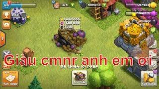 NMT | Clash of clans | Vớ được kho báu anh em ơi - giàu rồi