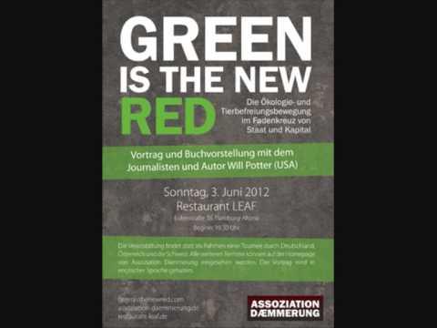 Green is the New Red. Will Potter Buchvorstellung in Hamburg. Veranstalter: Assoziation Daemmerung