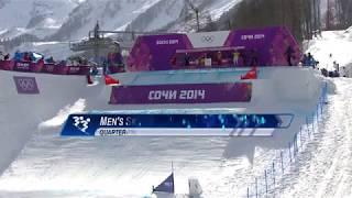 ソチ五輪・男子スキークロスで実況解説大興奮のゴール