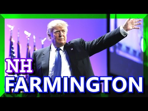 Donald Trump Farmington High School New Hampshire FULL SPEECH HD January 25 2016 ✔