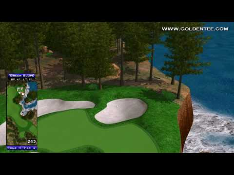 Golden Tee Great Shot on Timber Bay!