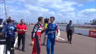 2016 IndyCar Fights, Arguments and Tempers