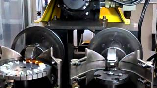 Automatic ceiling fan stator coil winding machine-Nide Mechanical