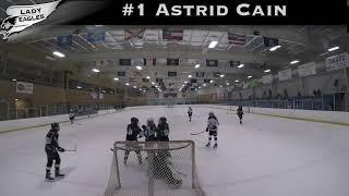 2018-2019 #1 Astrid Cain GY 2023 Carolina Lady Eagle Highlights