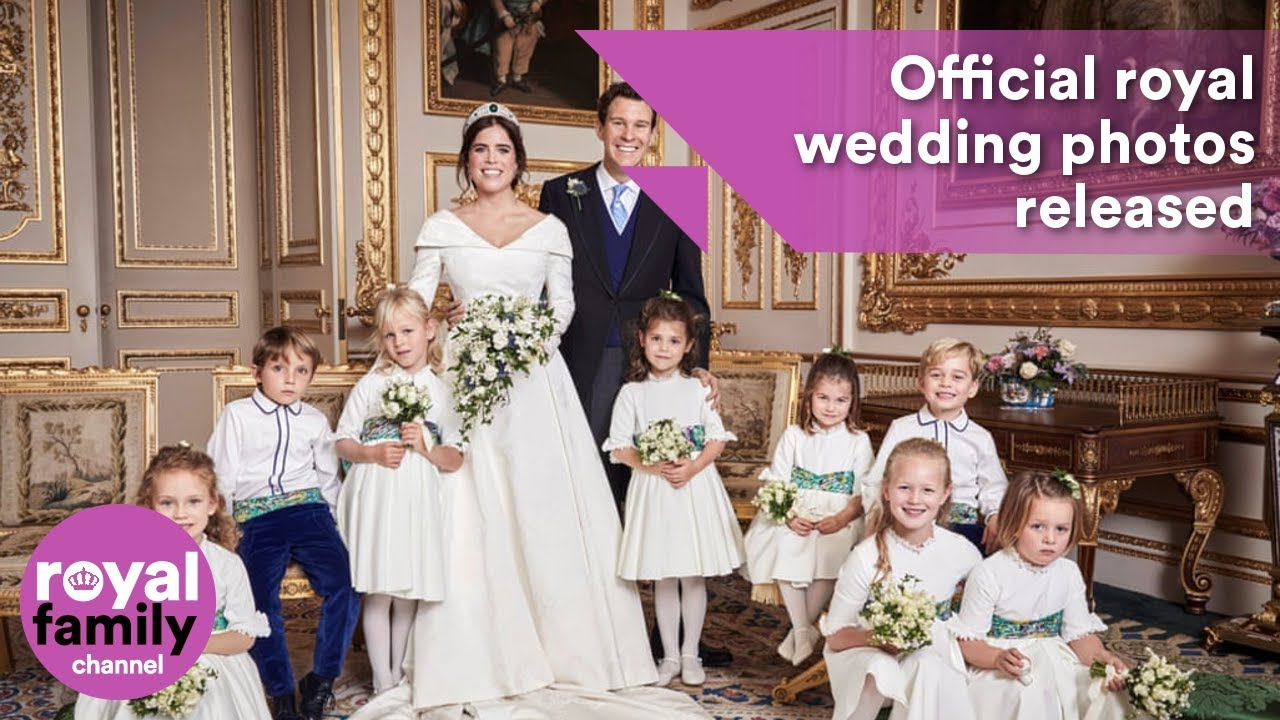 Official royal wedding photos of Princess Eugenie and Jack Brooksbank